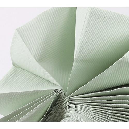 Паперові рушники листові, 1 шарові. Z-складання. P422 - Фото №2