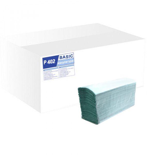 Паперові рушники листові,1 шарові. Z-складання. P402 - Фото №1