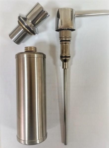 Дозатор рідкого мила що вбудовується 250 мл. 9003. - Фото №2