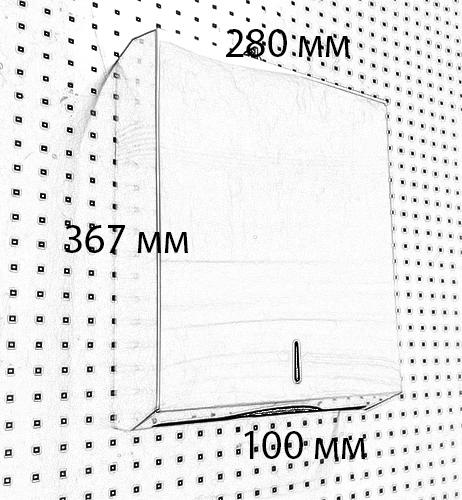 Тримач ZZ паперових рушників ZG-1403S - Фото №5