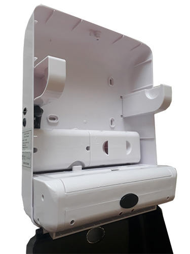 Автоматический держатель бумажных полотенец, черный. ZG-1901B - Фото №4