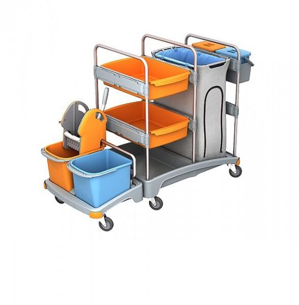 Візок для прибирання приміщень TSZ-0004 - Фото №1