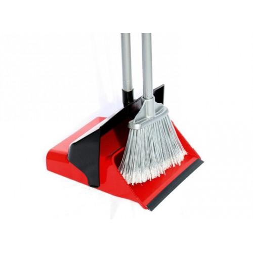 Набор для уборки совок+щетка красный, DUSTER SET. 12.00825.0006R - Фото №1