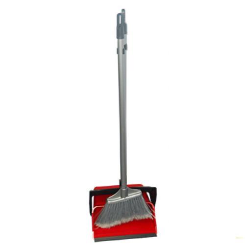 Набор для уборки совок+щетка красный, DUSTER SET. 12.00825.0006R - Фото №2
