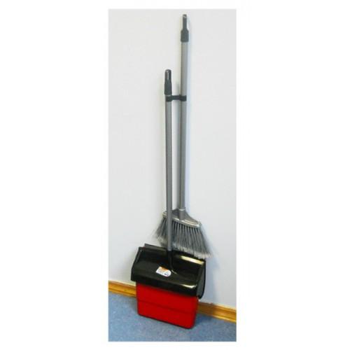 Набор для уборки совок+щетка красный, DUSTER SET. 12.00825.0006R - Фото №4