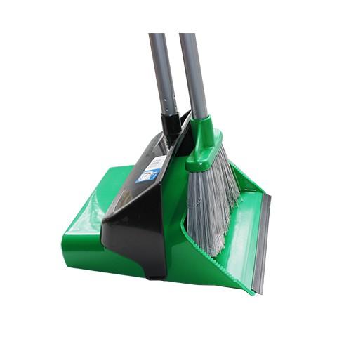 Набір для прибирання совок + щітка  зелений, DUSTER SET. 12.00825.0006G - Фото №1