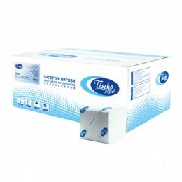 Туалетная бумага листовая, целлюлозная, белая 1 слой, 250 листов.  B-307 - Фото