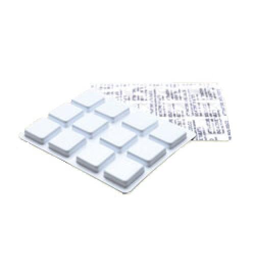 Пігулки для каналізаційних систем в блістерній упаковці 12шт. ECOACTISAN - Фото №1