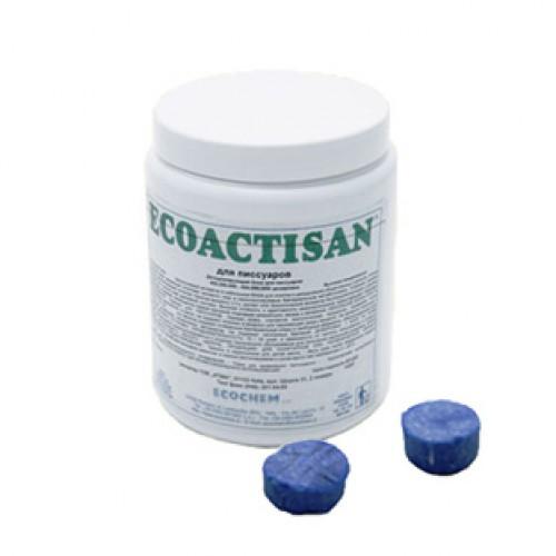 Дезодоруючі таблетки для пісуарів. ECOACTISAN URINALS - Фото №1
