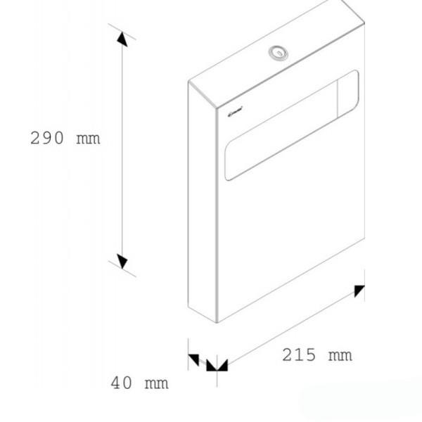 Тримач накладок на унітаз. GSM001 - Фото №2