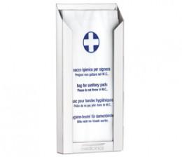 Тримач пакетів гігієнічних SANITARY білий. DBH100