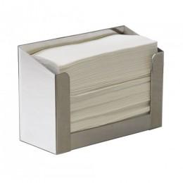 Держатель бумажных полотенец V, матовый E-701S - Фото