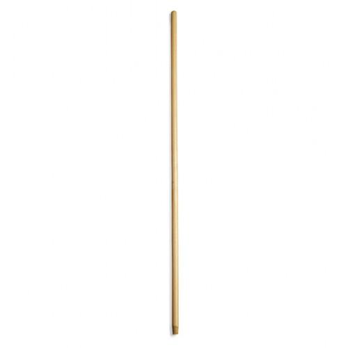 Рукоятка дерев'яна з різьбою, 130 см * 22 мм. 2149065 - Фото №1