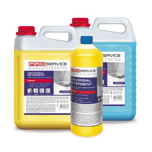 Універсальний миючий засіб 'Лимон' 5 л, для підлог і інших поверхонь. 25472434 - Фото №1