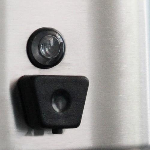 Дозатор рідкого мила нержавіючий метал глянсовий 1,3 л. DJ0115C - Фото №2