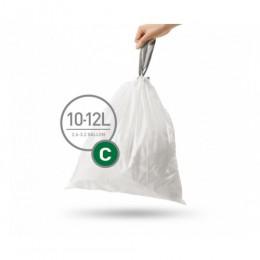Мешки для мусора плотные с завязками 10-12 л SIMPLEHUMAN. CW0252 - Фото