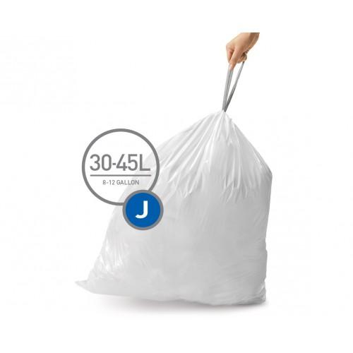 Мешки для мусора плотные с завязками 30-45 л SIMPLEHUMAN. CW0259 - Фото №1