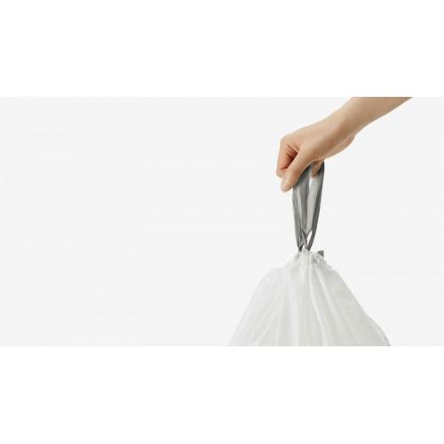 Мішки для сміття щільні із зав`язками 80 л SIMPLEHUMAN. CW0272 - Фото №3