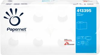 Туалетная бумага стандарт, целлюлоза, 2 слоя, Papernet.  413395 - Фото №1