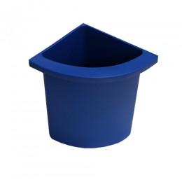 Разделитель урны для мусора синий  ACQUALBA. 546BLUE - Фото