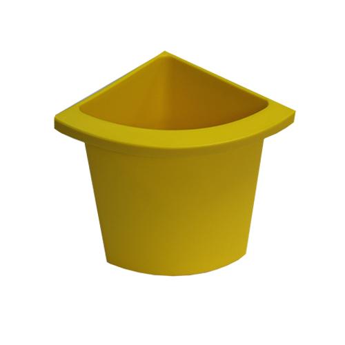 Разделитель урны для мусора желтый  ACQUALBA. A54608 - Фото №1