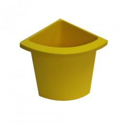 Разделитель урны для мусора желтый  ACQUALBA. 546Y - Фото