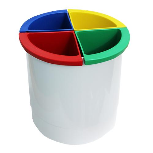 Разделитель урны для мусора желтый  ACQUALBA. A54608 - Фото №3