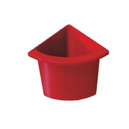 Разделитель урны для мусора красный  ACQUALBA. 546R - Фото