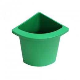 Разделитель урны для мусора зеленый  ACQUALBA. 546GR - Фото