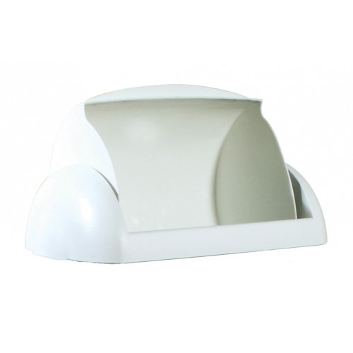 Кришка для урни 23л арт. A74201 Madame PRESTIGE, пластик білий. 748 - Фото №1