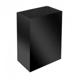 Корзина для бумажных полотенец металл черный 60 л. M 160Black - Фото