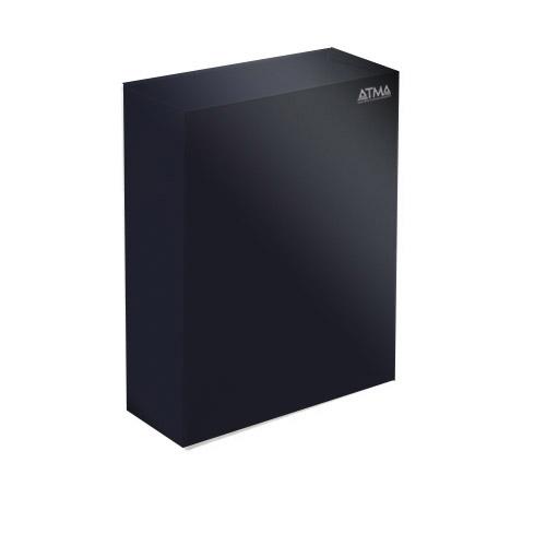 Корзина для паперових рушників метал чорний 16 л. M 116Black - Фото №1