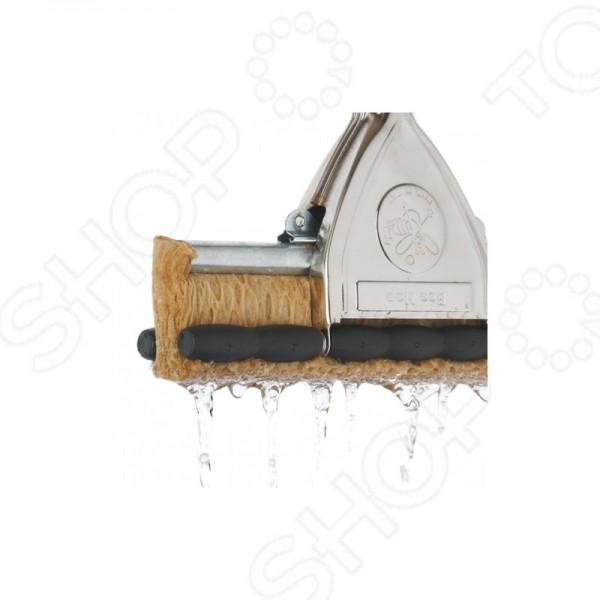 Швабра для вологого прибирання з віджимом 32см. 10082 - Фото №2