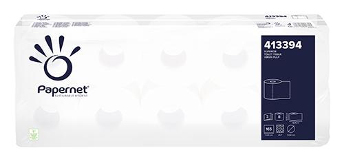Туалетная бумага, целлюлоза. 3 слоя. 413394 - Фото №1