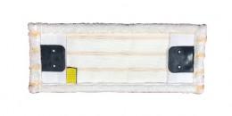 Моп (вкладка) з кишенями з мікрофібри кармани, відвороти, 40 см. MY042WP - Фото