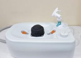 Портативный (автономный) прибор для обмывания ног или обуви. CHH-7710.  - Фото