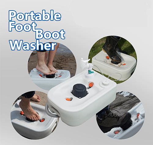 Портативний (автономний) прилад для миття ніг або взуття. CHH-7710. - Фото №2