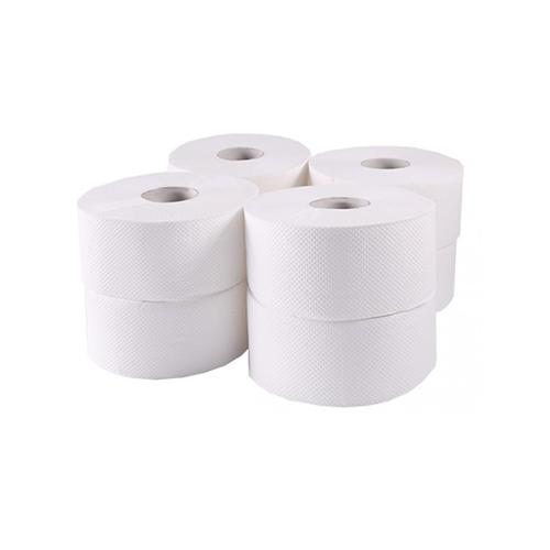 Туалетная бумага рулонная, целлюлоза, 2-х шарова, 120 м. Джамбо. 203021 - Фото №1