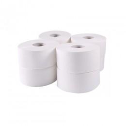 Туалетная бумага рулонная, целлюлоза, 2 слоя, 120 м. Джамбо. 203021 - Фото