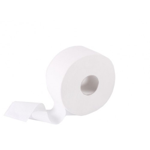 Туалетная бумага рулонная, целлюлоза, 2-х шарова, 120 м. Джамбо. 203021 - Фото №3