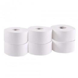 Туалетная бумага рулонная, целлюлоза, 2 слоя, 160 м. Джамбо. 203022 - Фото