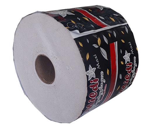 Туалетная бумага Mildi De Luxe Maxi двухслойная 65 м 200 отрывов 9 рулонов Белая. K-65 - Фото №4