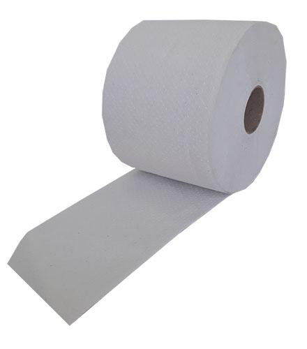 Туалетная бумага Mildi De Luxe Maxi двухслойная 65 м 200 отрывов 9 рулонов Белая. K-65 - Фото №5