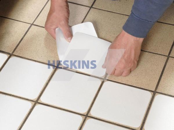 Неабразивна водонепроникна протиковзка прозора стрічка Aqua-Safe Heskins. H3405T25 - Фото №4