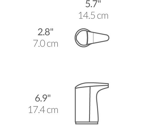 Дозатор рідкого мила автоматичний (Сенсорний). ST1018 - Фото №5