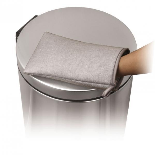 Серветки з мікрофібри для догляду за виробами з нержавіючої сталі. KT1008 - Фото №3