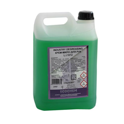 Мыло-крем жидкое INDUSTRY DEGREASING L.I.1012 5 л. 0710120L0053607 - Фото №1