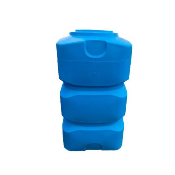 Вертикальна пластикова ємність з отвором 500 л .BK-500 - Фото №1