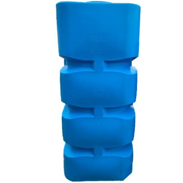 Вертикальная пластиковая ёмкость , 1000 л. BК-1000 - Фото №1
