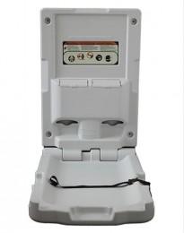 Пеленальный столик настенный откидной вертикальный белый. ZG-8001A-V - Фото